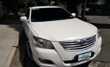 Selling White Toyota Camry 2009 in Quezon City