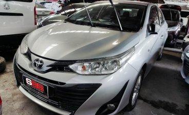 Selling Brightsilver Toyota Vios 2019 in Quezon