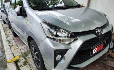 Brightsilver Toyota Wigo 2020 for sale in Quezon