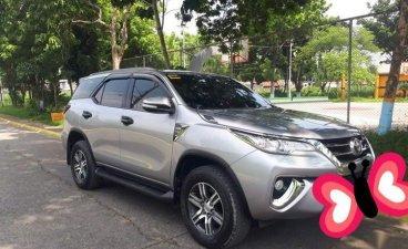 Selling Brightsilver Toyota Fortuner 2017 in Manila