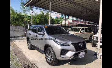Silver Toyota Fortuner 2021 SUV at 5000 for sale