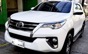 Selling White Toyota Fortuner 2019 in Marikina