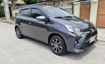 Selling Grey Toyota Wigo 2021 in Quezon