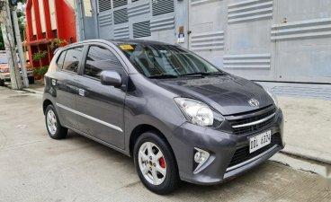 Selling Grey Toyota Wigo 2016 in Quezon