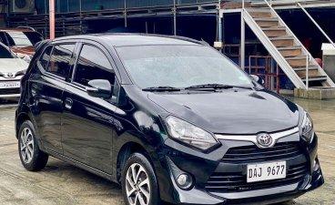 Black Toyota Wigo 2019 for sale in Makati