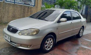 Pearl Silver Corolla Altis 2003 for sale in Marikina