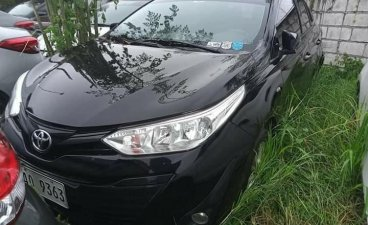 Black Toyota Vios 2019 for sale in Manual