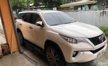 Selling Pearl White Toyota Fortuner 2016 in Bulakan