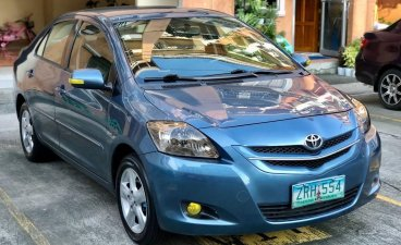 Blue Toyota Vios 2008 for sale in Quezon