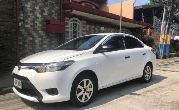Pearl White Toyota Vios 2016 for sale in Manual
