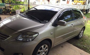 Pearl White Toyota Vios 2011 for sale in Mandaluyong