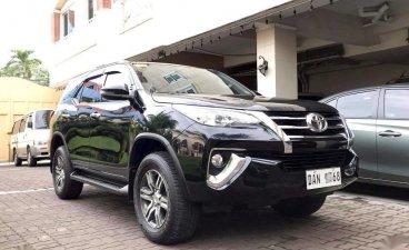 Selling Black Toyota Fortuner 2019 in Manila