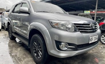 Silver Toyota Fortuner 2016 for sale in Las Pinas