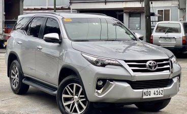 Selling Silver Toyota Fortuner 2019 in Makati