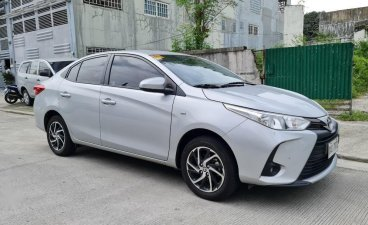 Pearl White Toyota Vios 2021 for sale in Quezon