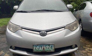 Pearl White Toyota Previa 2007 for sale in Quezon City