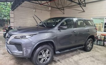 Selling Silver Toyota Fortuner 2021 in Angat