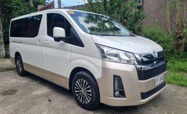 Sell Pearl White 2020 Toyota Hiace in Malabon
