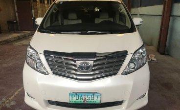 Sell White 2011 Toyota Alphard in Pasig