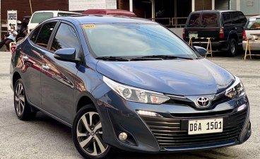 Selling Blue Toyota Vios 2020 in Makati