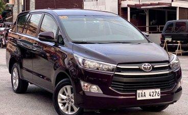 Red Toyota Innova 2019 for sale in Makati
