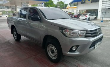 Silver Toyota Hilux 2020 for sale in Manual