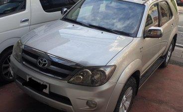 Brightsilver Toyota Fortuner 2007 for sale in Marikina