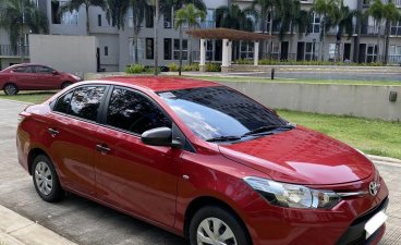 Selling Red Toyota Vios 2016 in Muntinlupa