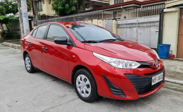 Red Toyota Vios 2020 for sale in Quezon