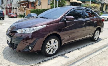 Purple Toyota Vios 2020 for sale in Quezon
