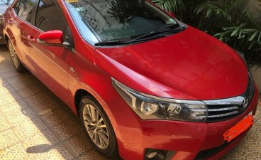 Selling Red Toyota Corolla Altis 2014 in Quezon