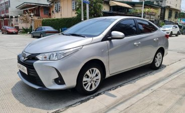 Pearl White Toyota Vios 2020 for sale in Quezon