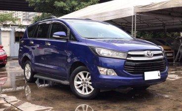 Blue Toyota Innova 2016 for sale in Makati