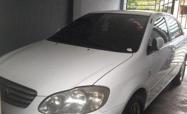 White Toyota Corolla Altis 2002 for sale in Angeles
