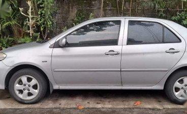 Brightsilver Toyota Vios 2004 for sale in Quezon