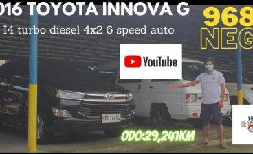 Black Toyota Innova 2016 for sale in Pasay