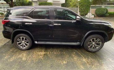 Selling Grayblack Toyota Fortuner 2016 in Quezon