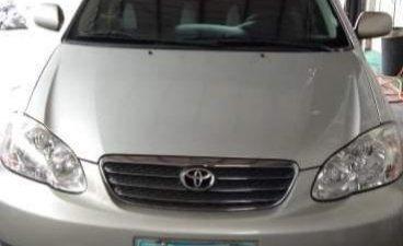 Brightsilver Toyota Corolla Altis 2005 for sale in Quezon