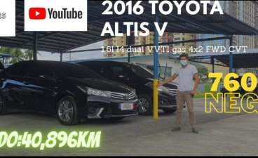 Black Toyota Corolla Altis 2016 for sale in Pasay