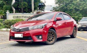 Red Toyota Corolla Altis 2014 for sale in Makati