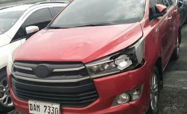 Red Toyota Innova 2019 for sale in Quezon