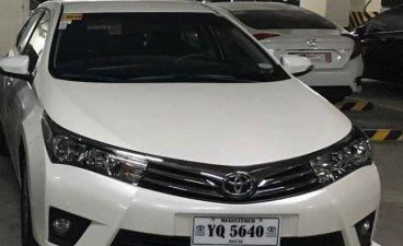 White Toyota Corolla Altis 2015 for sale in Taguig