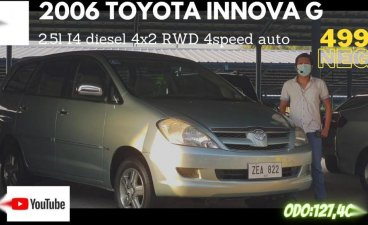 Pearl White Toyota Innova 2006 for sale in Pasay