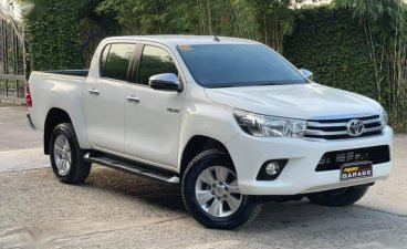 Sell Pearl White 2020 Toyota Hilux in Quezon City