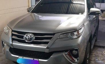 Silver Toyota Fortuner 2017 for sale in Santa Rosa