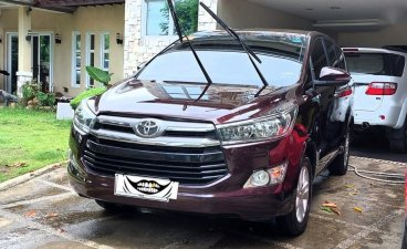 Red Toyota Innova 2018 for sale in Automatic