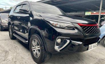 Black Toyota Fortuner 2015 for sale in Las Piñas