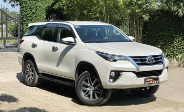 Sell Pearl White 2018 Toyota Fortuner in Quezon City