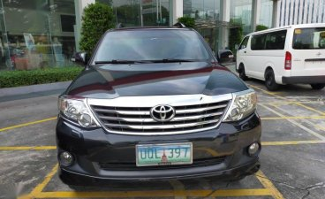 Sell Black 2013 Toyota Fortuner in Caloocan