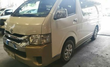 White Toyota Hiace 2017 for sale in Quezon City